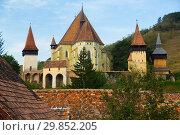 Купить «Image of Church Fortification in Biertan», фото № 29852205, снято 17 сентября 2017 г. (c) Яков Филимонов / Фотобанк Лори