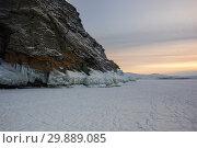 Купить «Lake Baikal in winter», фото № 29889085, снято 2 марта 2017 г. (c) Юлия Белоусова / Фотобанк Лори