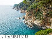 Купить «Costa Brava coastline», фото № 29891113, снято 16 октября 2016 г. (c) Яков Филимонов / Фотобанк Лори