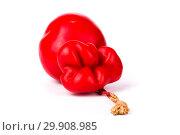 Купить «Твёрдый копчёный сыр ручной работы в парафиновой оболочке», фото № 29908985, снято 13 января 2019 г. (c) V.Ivantsov / Фотобанк Лори
