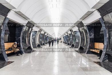 """Станция """"Савеловская"""" Московского метрополитена Большой кольцевой линии (БКЛ)"""