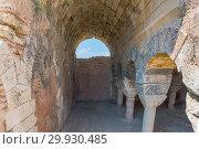 Купить «Interior view of Cistern used for storing water at Aya Tekla underground cave Church also known as Saint Aya Thecla, Aya Thekla, located in Silifke,Mersin,Turkey. 29 August 2017.», фото № 29930485, снято 31 августа 2017 г. (c) easy Fotostock / Фотобанк Лори