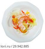 Купить «Tasty ceviche with tiger shrimps», фото № 29942885, снято 16 июля 2019 г. (c) Яков Филимонов / Фотобанк Лори