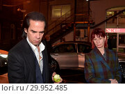 Купить «Guests attending the 60th birthday celebrations of Shane MacGowan, held at the National Concert Hall in Dublin. Featuring: Nick Cave Where: Dublin, Leinster...», фото № 29952485, снято 15 января 2018 г. (c) age Fotostock / Фотобанк Лори