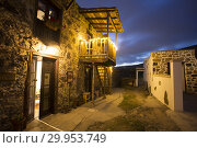 Купить «Old houses in Charco del Pino by night in Tenerife Canary islands Spain.», фото № 29953749, снято 4 января 2019 г. (c) age Fotostock / Фотобанк Лори