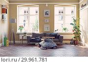 Купить «giant turtle as a base of the coffe table.», фото № 29961781, снято 18 июня 2019 г. (c) Виктор Застольский / Фотобанк Лори