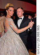 Annika Gassner, Alexander Mueller at Bundespresseball at Hotel Adlon... (2017 год). Редакционное фото, фотограф AEDT / WENN.com / age Fotostock / Фотобанк Лори