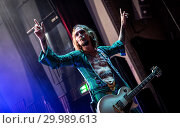 Купить «The Darkness performing live on stage at the O2 Guildhall Southampton in Southampton, Hampshire. Featuring: The Darkness, Justin Hawkins Where: Southampton...», фото № 29989613, снято 23 ноября 2017 г. (c) age Fotostock / Фотобанк Лори