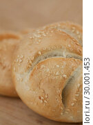 Купить «Close up kaiser roll», фото № 30001453, снято 31 января 2012 г. (c) Wavebreak Media / Фотобанк Лори