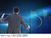 Купить «Composite image of businessman catching», фото № 30030689, снято 1 ноября 2013 г. (c) Wavebreak Media / Фотобанк Лори