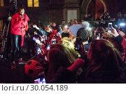 Купить «Celebrities attend the annual Perth City lights Xmas lights switch on, with musical performances. Featuring: Alesha Dixon Where: Perth, United Kingdom When: 18 Nov 2017 Credit: Euan Cherry/WENN.com», фото № 30054189, снято 18 ноября 2017 г. (c) age Fotostock / Фотобанк Лори
