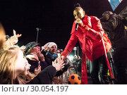 Купить «Celebrities attend the annual Perth City lights Xmas lights switch on, with musical performances. Featuring: Alesha Dixon Where: Perth, United Kingdom When: 18 Nov 2017 Credit: Euan Cherry/WENN.com», фото № 30054197, снято 18 ноября 2017 г. (c) age Fotostock / Фотобанк Лори