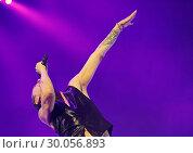 Купить «Depeche Mode Performing at Manchester Arena Featuring: Depeche Mode, Dave Gahan Where: Manchester, United Kingdom When: 17 Nov 2017 Credit: Sakura/WENN.com», фото № 30056893, снято 17 ноября 2017 г. (c) age Fotostock / Фотобанк Лори
