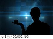 Купить «Composite image of technical background with squares», фото № 30066193, снято 11 января 2014 г. (c) Wavebreak Media / Фотобанк Лори