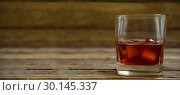 Купить «whiskey glass», фото № 30145337, снято 21 февраля 2017 г. (c) Wavebreak Media / Фотобанк Лори