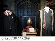 Купить «Props from Harry Potter films appear at 'Harry Potter: The Exhibition' Featuring: Atmosphere Where: Madrid, Spain When: 16 Nov 2017 Credit: Oscar Gonzalez/WENN.com», фото № 30147269, снято 16 ноября 2017 г. (c) age Fotostock / Фотобанк Лори