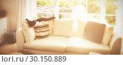 Купить «Sitting room», фото № 30150889, снято 30 июня 2017 г. (c) Wavebreak Media / Фотобанк Лори
