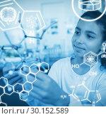 Купить «Composite image of science graphic», фото № 30152589, снято 18 августа 2017 г. (c) Wavebreak Media / Фотобанк Лори