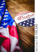 Купить «Composite image of happy presidents day. vector typography», фото № 30158845, снято 4 января 2019 г. (c) Wavebreak Media / Фотобанк Лори