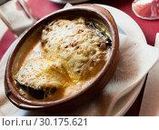 Купить «Spanish stuffed eggplants», фото № 30175621, снято 21 января 2020 г. (c) Яков Филимонов / Фотобанк Лори