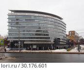 Купить «Центр международной торговли. Нижний Новгород», фото № 30176601, снято 17 февраля 2019 г. (c) Ельцов Владимир / Фотобанк Лори
