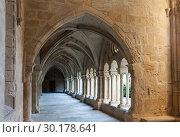 Купить «Cloister of Monastery of Santa Maria de Vallbona», фото № 30178641, снято 27 января 2019 г. (c) Яков Филимонов / Фотобанк Лори