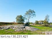 Купить «Красивый пейзаж. Крепость Свеаборг, или Суоменлинна. Хельсинки. Финляндия», фото № 30231421, снято 19 сентября 2018 г. (c) E. O. / Фотобанк Лори