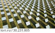 Купить «Electric power solar panels. Solar energy panel station», видеоролик № 30231805, снято 23 декабря 2018 г. (c) Яков Филимонов / Фотобанк Лори