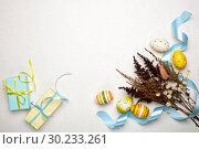 Купить «Easter background», фото № 30233261, снято 16 февраля 2019 г. (c) Мельников Дмитрий / Фотобанк Лори