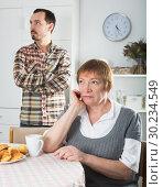 Купить «Mother and son arguing», фото № 30234549, снято 18 марта 2019 г. (c) Яков Филимонов / Фотобанк Лори