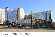 Купить «Отель Mercure, Липецк», фото № 30260793, снято 7 марта 2019 г. (c) Евгений Будюкин / Фотобанк Лори