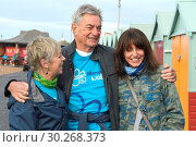 Купить «Davina McCall takes part in the Alzheimer's Society Memory Walk in Brighton with her parents Andrew McCall and Gaby McCall, Davina was inspired by her...», фото № 30268373, снято 30 сентября 2017 г. (c) age Fotostock / Фотобанк Лори