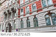 Купить «Красивая архитектура Хельсинки. Финляндия», фото № 30272625, снято 20 сентября 2018 г. (c) E. O. / Фотобанк Лори