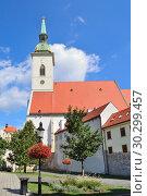 Купить «St. Martin's Cathedral in Bratislava», фото № 30299457, снято 12 июля 2018 г. (c) Татьяна Савватеева / Фотобанк Лори