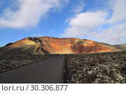 Купить «Lanzarote scenery. Canary island. Spain», фото № 30306877, снято 14 июня 2008 г. (c) Знаменский Олег / Фотобанк Лори