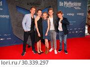 Premiere 'Die Pfefferkörner und der Fluch des schwarzen Königs' at... (2017 год). Редакционное фото, фотограф Becher / WENN.com / age Fotostock / Фотобанк Лори