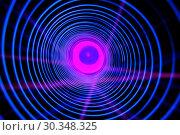 Купить «Abstract conceptual background with futuristic high tech wormhole tunnel», фото № 30348325, снято 7 мая 2016 г. (c) Куликов Константин / Фотобанк Лори