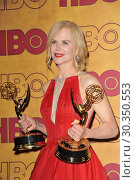 Купить «HBO Emmy Party 2017 Featuring: Nicole Kidman Where: Los Angeles, California, United States When: 18 Sep 2017 Credit: Apega/WENN.com», фото № 30350553, снято 18 сентября 2017 г. (c) age Fotostock / Фотобанк Лори
