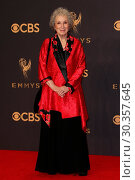 Купить «The 69th Emmy Awards - Press Room At The Microsoft Theater In Los Angeles, California Featuring: Margaret Atwood Where: Los Angeles, California, United...», фото № 30357645, снято 18 сентября 2017 г. (c) age Fotostock / Фотобанк Лори
