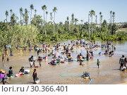 Купить «People washing clothes in the river of Ilakaka village, Madagascar.», фото № 30366401, снято 24 июня 2019 г. (c) age Fotostock / Фотобанк Лори