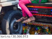Купить «Legs of indian woman», фото № 30366913, снято 15 ноября 2012 г. (c) Игорь Жоров / Фотобанк Лори