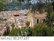 Spain, Majorca - view of the city of Arta (2017 год). Редакционное фото, агентство Caro Photoagency / Фотобанк Лори