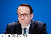 Dr. Markus Krebber, CFO of RWE AG, Essen, North Rhine-Westphalia, Germany, Europe (2019 год). Редакционное фото, агентство Caro Photoagency / Фотобанк Лори