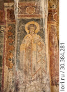 Купить «Pictures & images of the medieval fresco of saints on the front door of the Alaverdi St George Cathedral & monastery complex, 11th century, near Telavi, Georgia (country).», фото № 30384281, снято 25 июля 2018 г. (c) age Fotostock / Фотобанк Лори