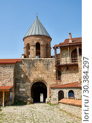 Купить «Pictures & images of the Gate house of the medieval Alaverdi St George Cathedral & monastery complex, 11th century, near Telavi, Georgia (country).», фото № 30384297, снято 25 июля 2018 г. (c) age Fotostock / Фотобанк Лори