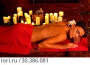 Купить «Anti discomfort lymphatic massage for tired body», фото № 30386081, снято 27 марта 2019 г. (c) Gennadiy Poznyakov / Фотобанк Лори