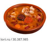 Купить «Asturian traditional dish Fabada», фото № 30387985, снято 26 июня 2019 г. (c) Яков Филимонов / Фотобанк Лори