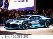 Купить «Bugatti Divo», фото № 30388205, снято 10 марта 2019 г. (c) Art Konovalov / Фотобанк Лори
