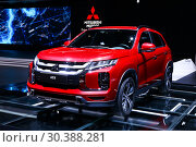 Купить «Mitsubishi ASX», фото № 30388281, снято 10 марта 2019 г. (c) Art Konovalov / Фотобанк Лори