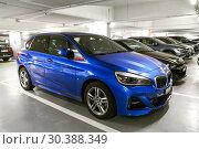Купить «BMW 2-series Active Tourer», фото № 30388349, снято 13 марта 2019 г. (c) Art Konovalov / Фотобанк Лори